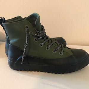 Hunter for Target Shoes - Hunter for Target green black shoes